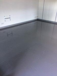 Not for cats resin floor 1