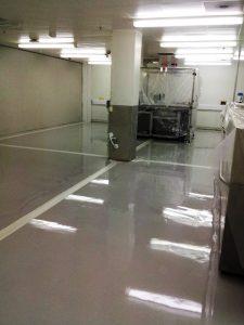 Resin Floor Repairs 1