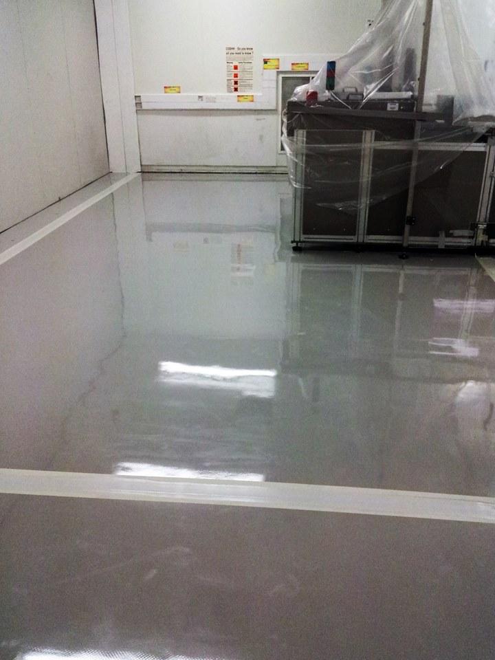 Resin Floor Repairs 2
