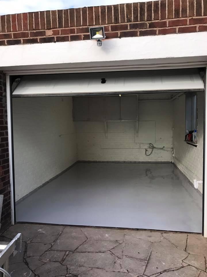 Resin Garage Floor 2