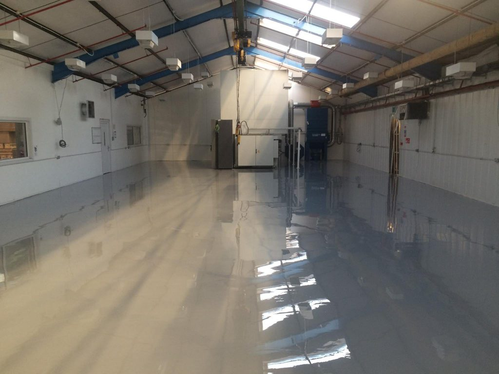 Self Levelling Resing Flooring 1