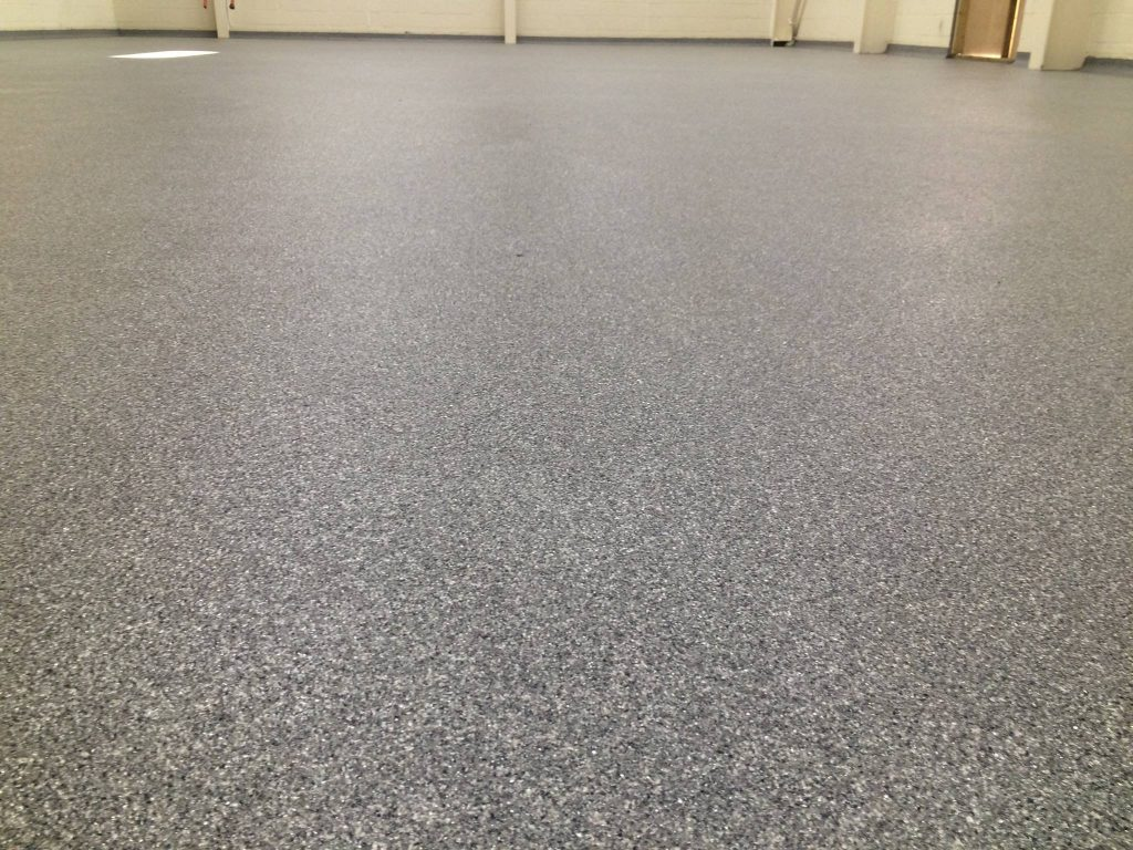 decorative flake resin floor 1