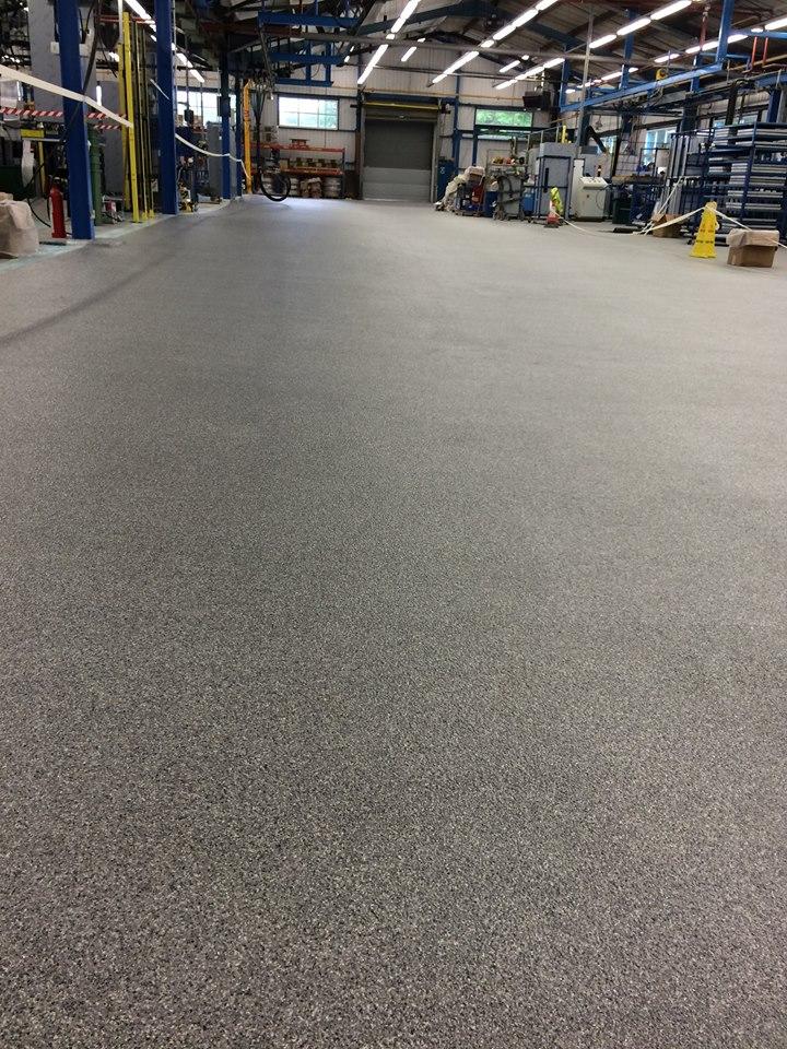 decorative flake resin floor 2