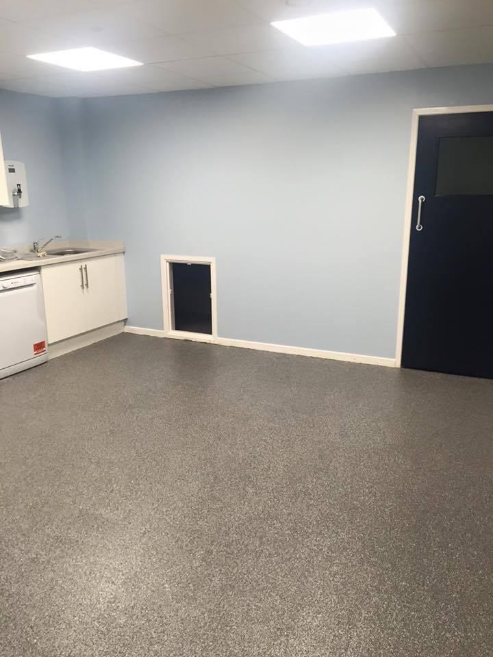decorative flake resin floor 3