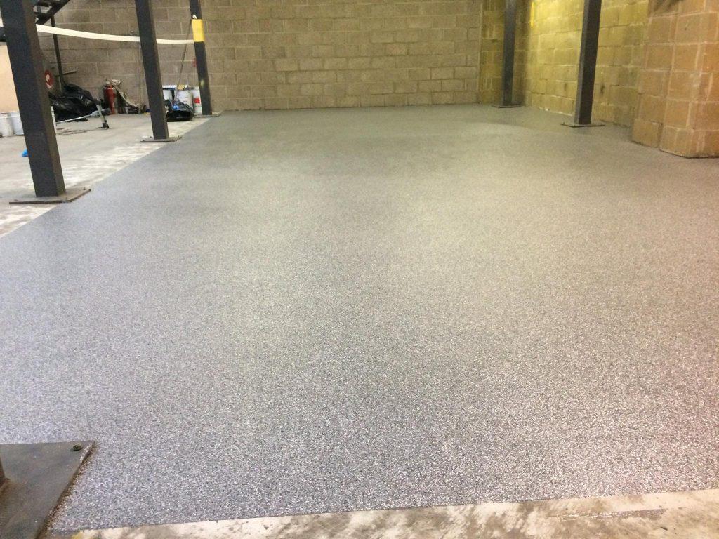 decorative flake resin floor 4