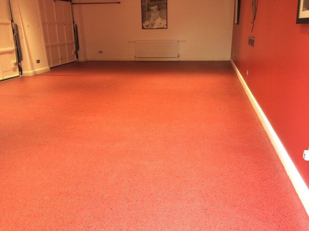 decorative flake resin floor 5