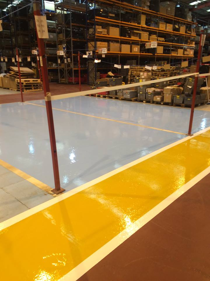 flormac safety resin flooring line marking 1