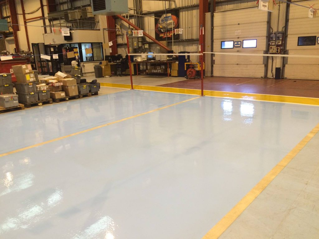 flormac safety resin flooring line marking