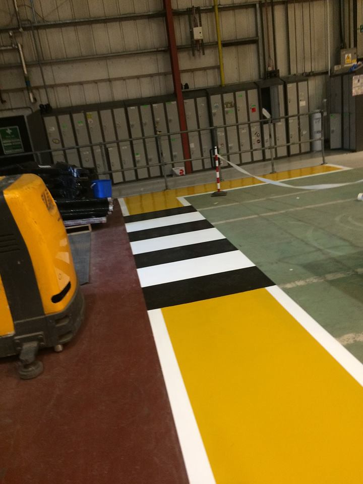 flormac safety resin flooring line marking 2