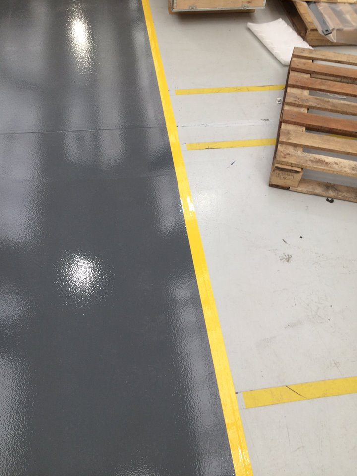 flormac safety resin flooring line marking 3