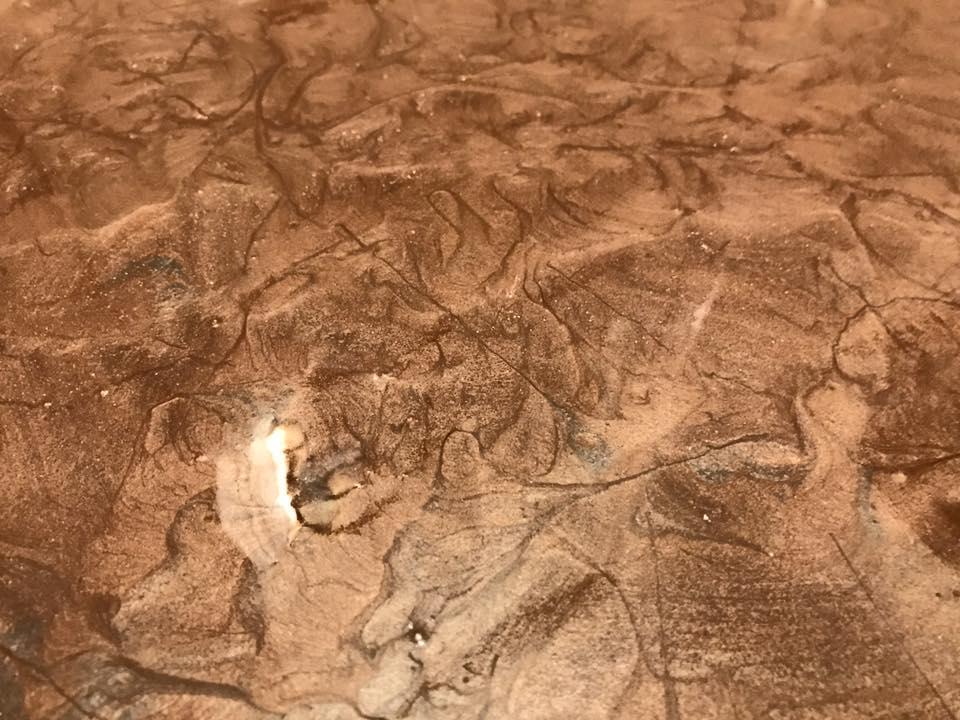 marble resin floor