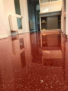 winchester resin kitchen floor