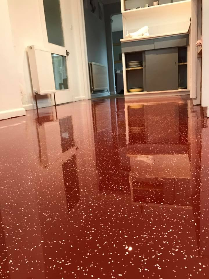 winchester resin kitchen floor