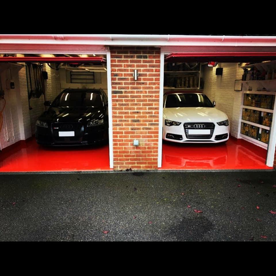 resin Garage Flooring Southampton