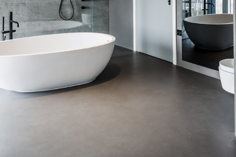 Luxury Bathroom Epoxy resin Flooring