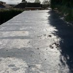 Damaged Resin Roof Before Work (5)