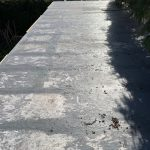 Damaged Resin Roof Before Work (6)
