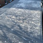 Damaged Resin Roof Before Work (7)