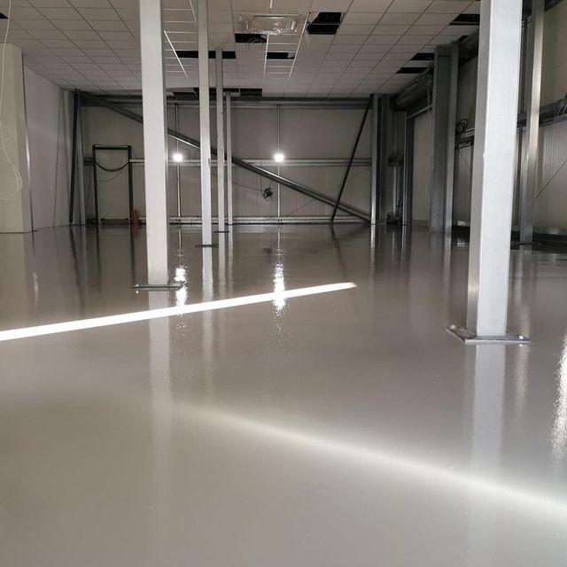 Epoxy Resin Warehouse Floor