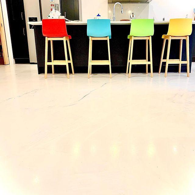 Epoxy Resin kitchen floor
