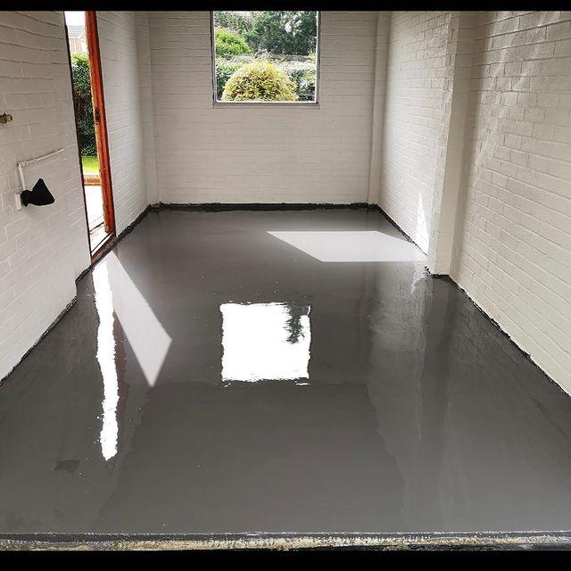Garage floor - Epoxy Resin Coating